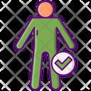 Body Image Verified Body Body Checkup Icon