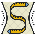 Measurement Body Band Icon