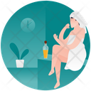 Body Oiling Icon