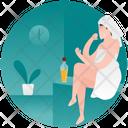 Body Oiling Body Care Skin Care Icon