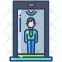Body Scanner Body Scan Scanner Icon