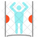 Body Scanner Security Icon