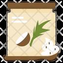 Scrub Body Coconut Icon
