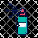 Body Spray Bottle Icon