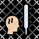 Temperature Fever Thermometer Icon
