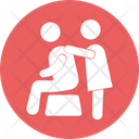 Body Treatment Chair Massage Massage Icon