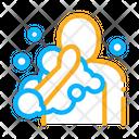 Taking Shower Hygiene Icon