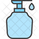 Body Wash Bottle Cleaning Icon