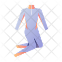 Wet Suite Bodysuit Icon