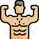 Muscle Bodybuilding Bodybuilder Icon