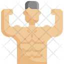 Muscle Man Fitness Icon