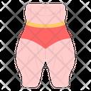 Thighs Bodybuilder Upper Leg Icon
