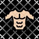 Bodybuilder Athlete Abs Icon
