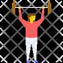 Muscular Bodybuilder Bodybuilding Icon