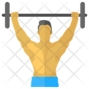 Weightlifting Olympics Game Icon
