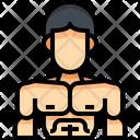 Bodybuilding Bodybuilder Gymer Icon