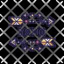 Boho Aesthetic Arrows Icon