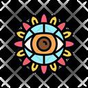 Boho Eye Icon