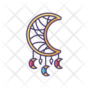 Boho Style Dreamcatcher Icon