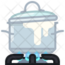 Boil Burner Kitchen Icon