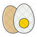 Boiled Egg Food Icon