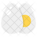 Egg Boil Egg Egg Slices Icon