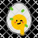 Boiled Egg Egg Boiled Icon