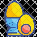 Boiled Egg Gastronomy Organic Icon
