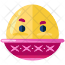 Boiled Egg Emoji Icon