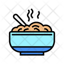 Delicious Boiled Oatmeal Icon