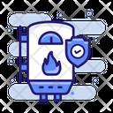 Boiler Insurance Machinery Icon