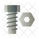 Bold Screw Tool Icon