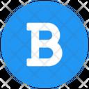 Bold Letter B Bold Option Icon