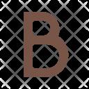 Bold Style Type Icon
