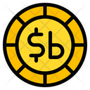 Boliviano Coin Currency Icon
