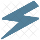 Electricity Sign Database Icon