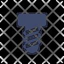 Bolt Construction Screw Icon