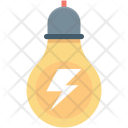 Bolt Bulb Light Icon