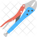 Bolt Cutter Cropper Icon