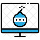 Hacker Bomb Damage Icon