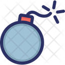 Attack Bomb Virus Icon