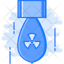 Nuclear Bomb Military Icon