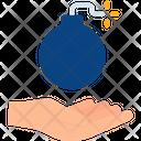 Bomb Explosive Army Icon