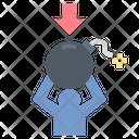 Stress Bomb Pressure Icon