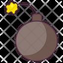Bomb Bombshell Atom Bomb Icon