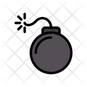Danger Explosion Bomb Icon