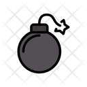 Bomb Danger Explosion Icon