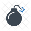 Bomb Danger Explosion Icon
