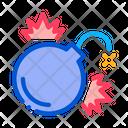 Firework Bomb Pyrotechnic Icon
