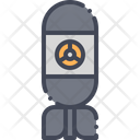 Bomb Rocket Nuclear Icon